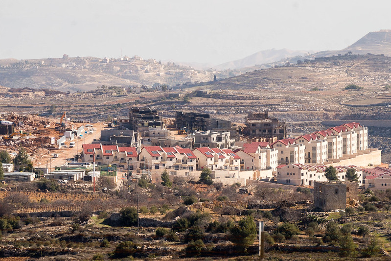 Givat Hatamar settlement. Photo credit: Ronan Shenhav/Flickr. Creative Commons 2.0.