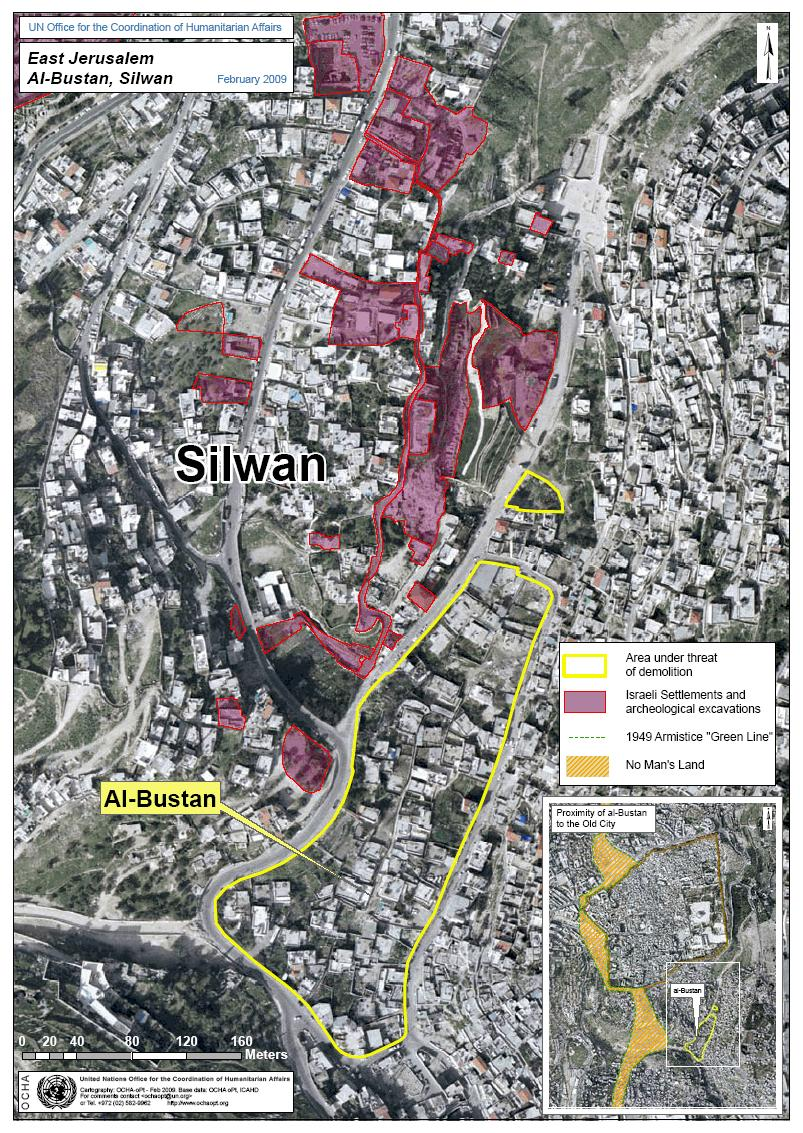 map.silwan